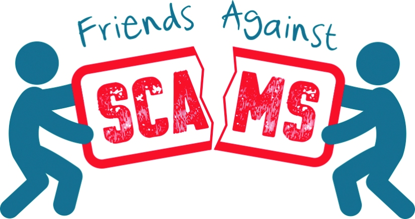 Friends Against Scams Logo CMYK