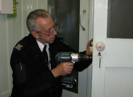 Mick fixing door lock