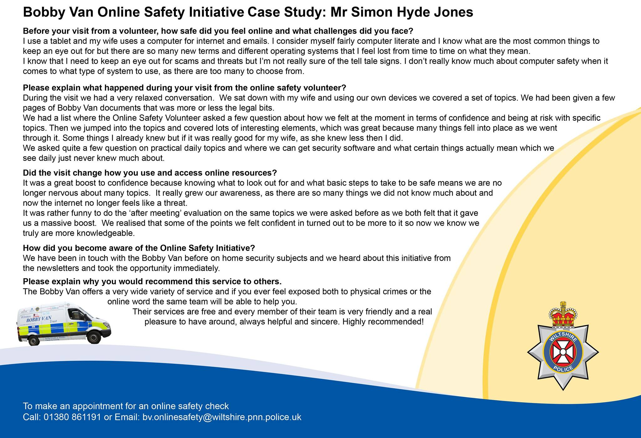Online safety From Wilts Police